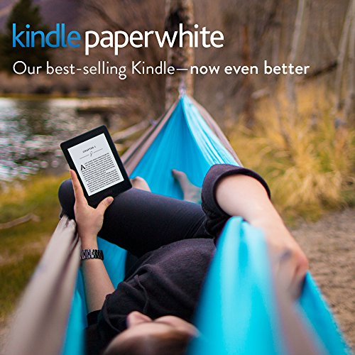 "Kindle Paperwhite E-reader - White, 6"" High-Resolution Display (300 ppi) with Built-in Light, Free 3G + Wi-Fi - Includes Special Offers"
