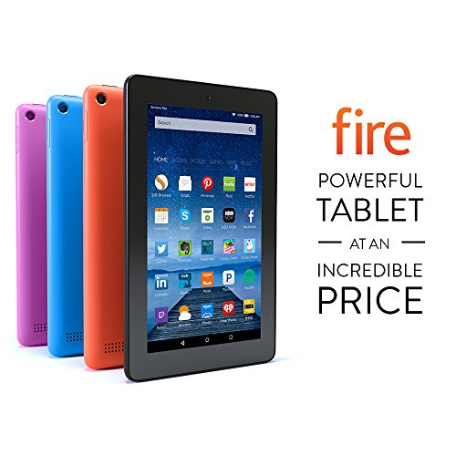 "Fire Tablet, 7"" Display, Wi-Fi, 8 GB - Includes Special Offers, Magenta"