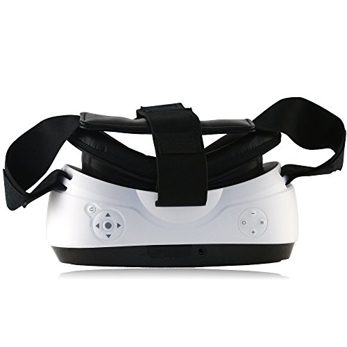 HYON Virtual Reality Game Movie 3D Glasses All in One VR Headset 5 inch 1080P 90 FOV Support Remote Controller Bluetooth Wifi HDMI TF Card Apps 360 degree View for PC PS4 Xbox Youtube Google Play